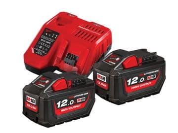 M18 HNRG Battery Twin Pack 18V 12.0Ah